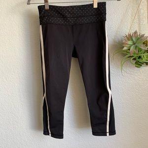 Lululemon polka dot Capri leggings size 4